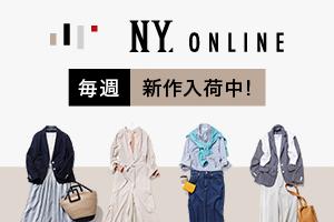 <ニューヨーカー>【web限定】ドット シャツワンピース